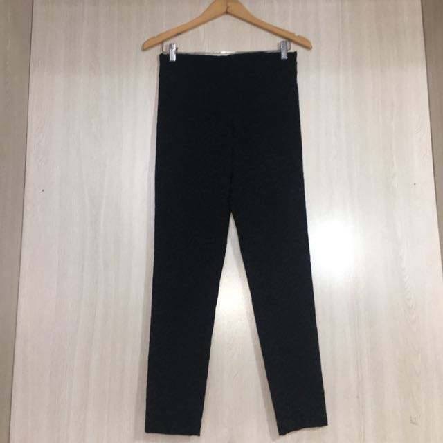 H&M Straight Cut Black Pants