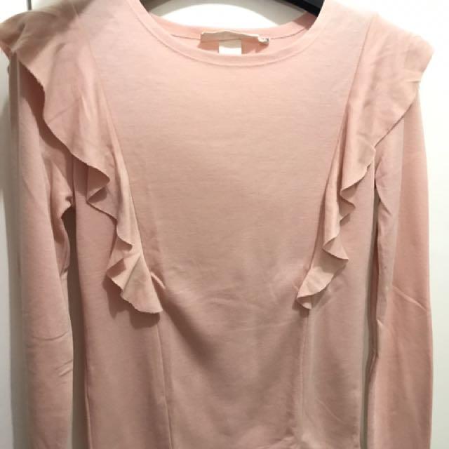HnM Shirt Lengan Panjang