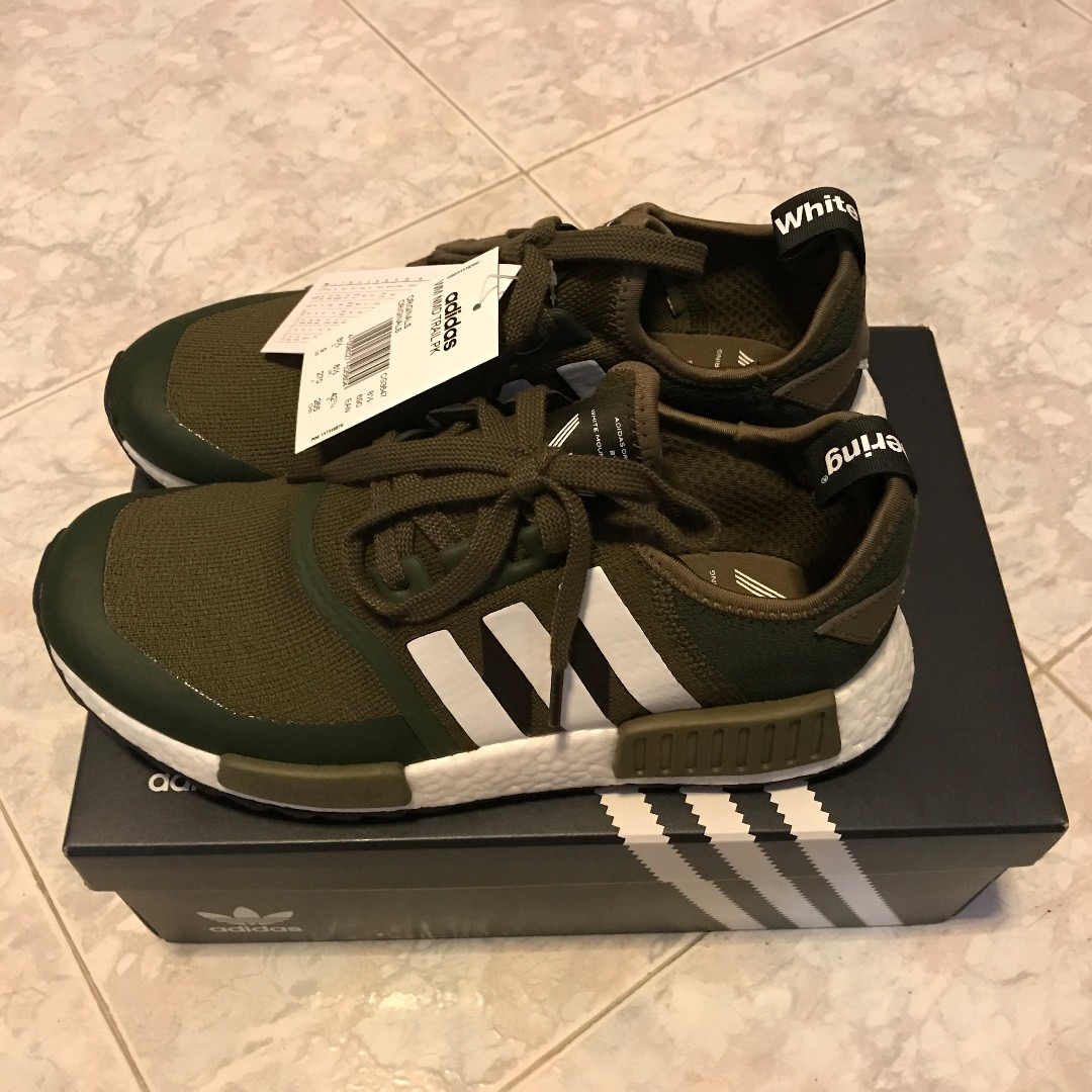 INSTOCK  White Mountaineering x adidas NMD R1 Trail Trace Olive ... 0d4dfa73ec1b