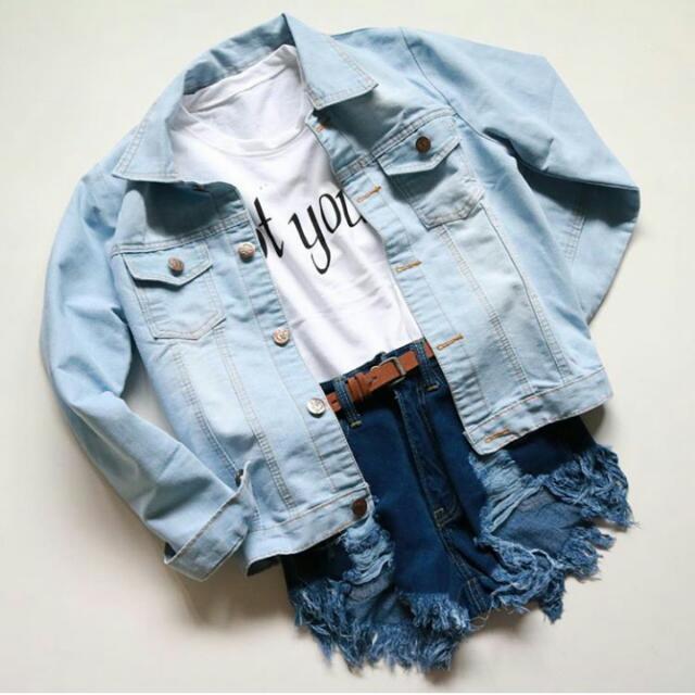 Jacket Jeans Oversize