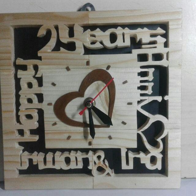 Kado Unik Jam Kayu Unik Design Craft Handmade Goods