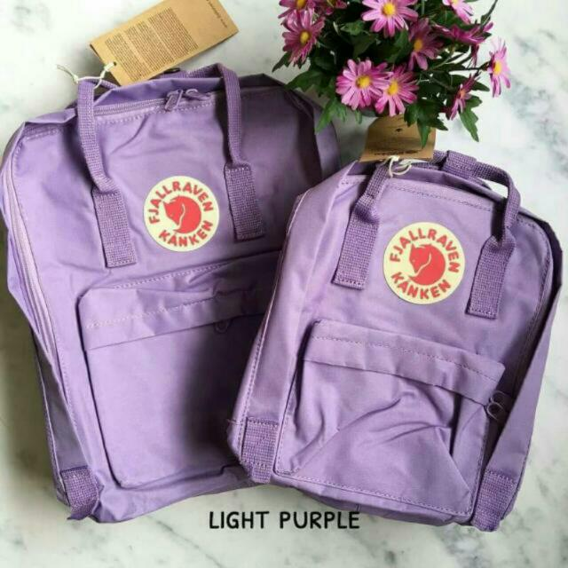 Kanken Backpack Premium Light Purple