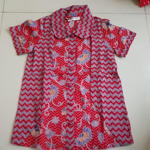 Kemeja Batik Merk Batik Keris