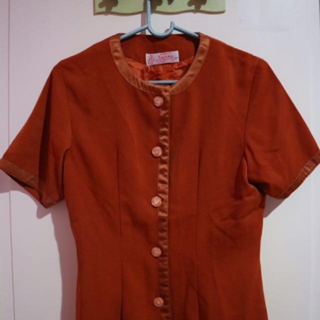 Kemeja Sartika Orange