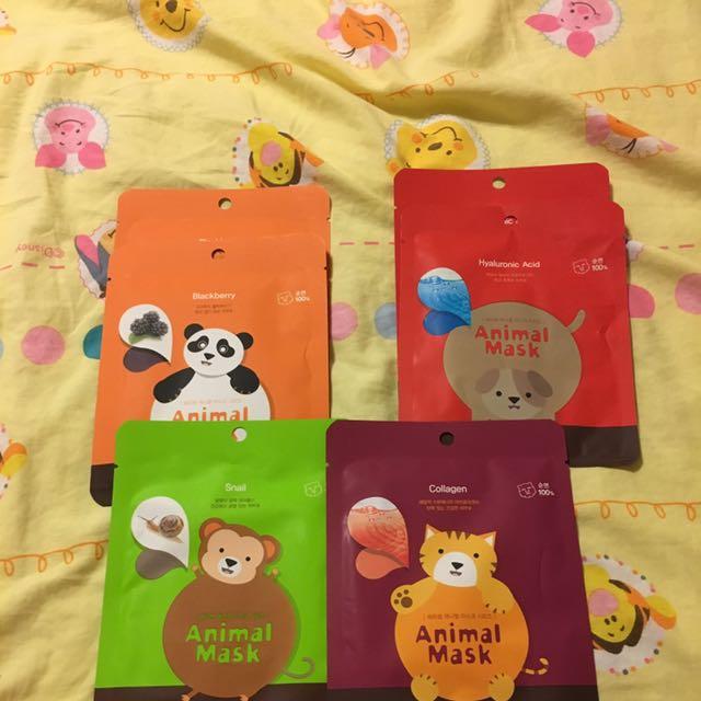Korean Animal Masks