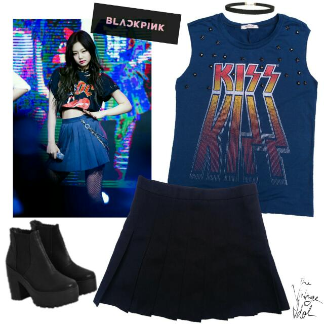 Kpop Inspired BlackPink Jennie Set