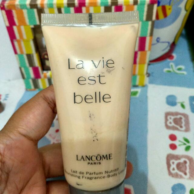 Lancome Body Perfume La Vie Est Belle