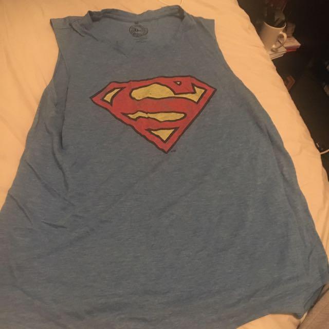 Large Superman Singlet