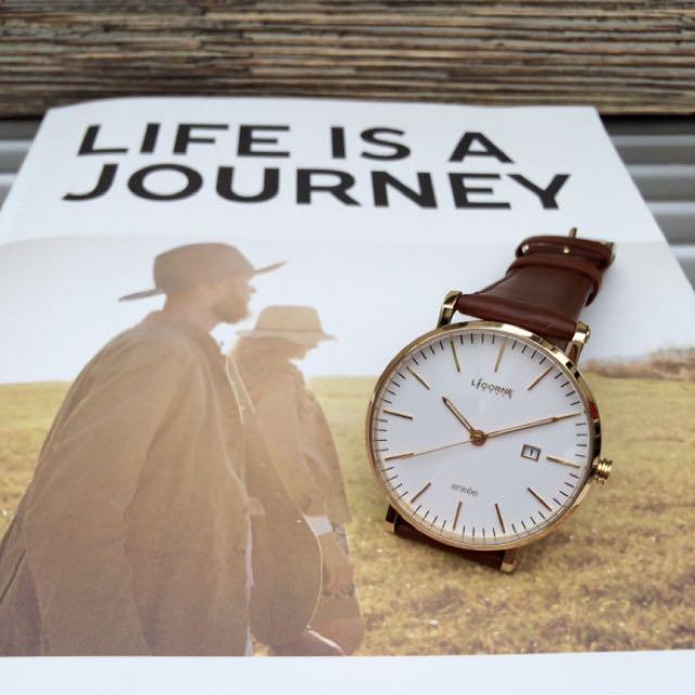 LiCORNE 纖薄 設計腕錶
