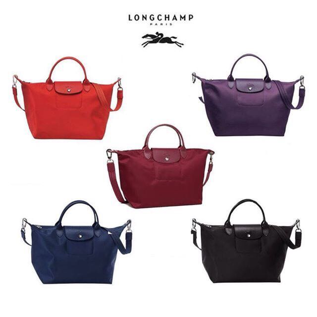 Long Champ Tote Bag