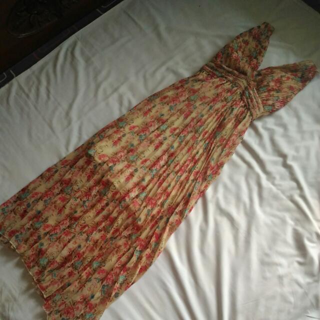 Long Dress Plisket