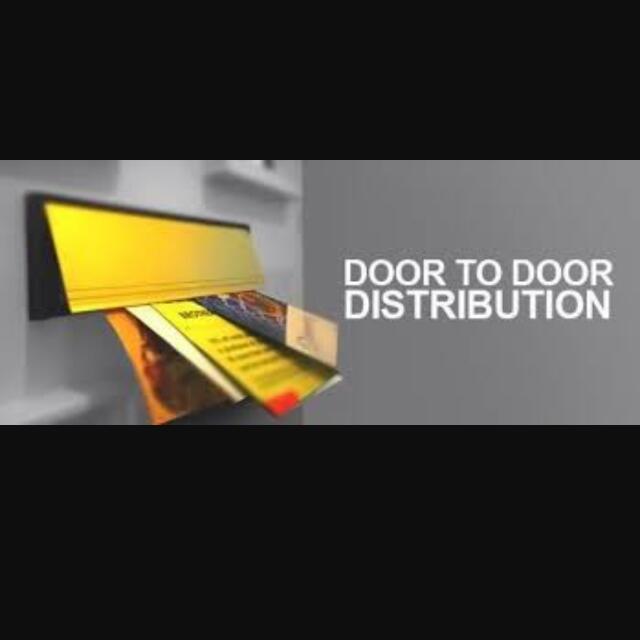 Looking For Door To Door Flyer Distribution Job