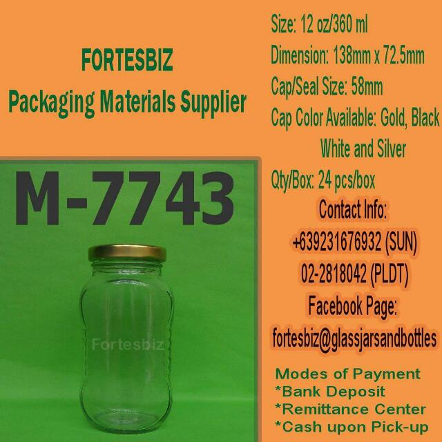M-7743 or 360ml
