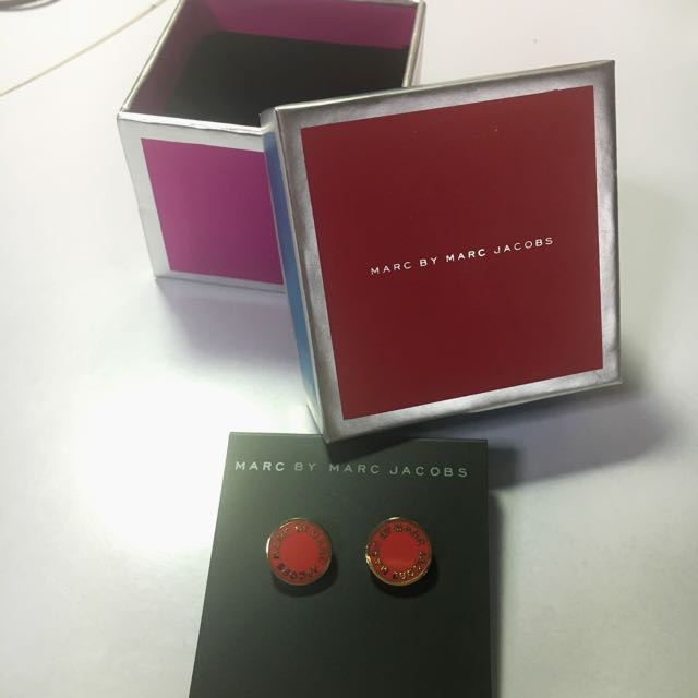 Marc By Marc Jacobs Earrings In Box