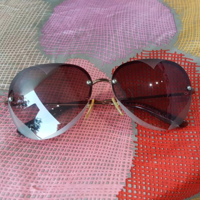 Authentic Marc By Marc Jacobs Love Heart Sunglasses