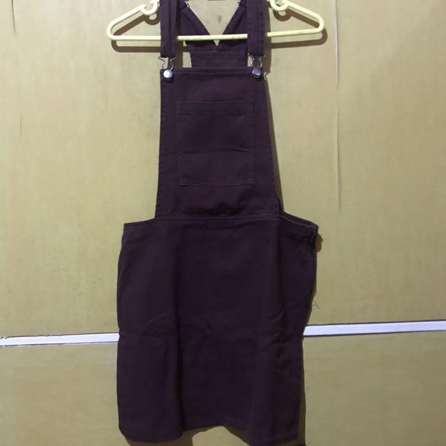 Maroon Skirt Jumper