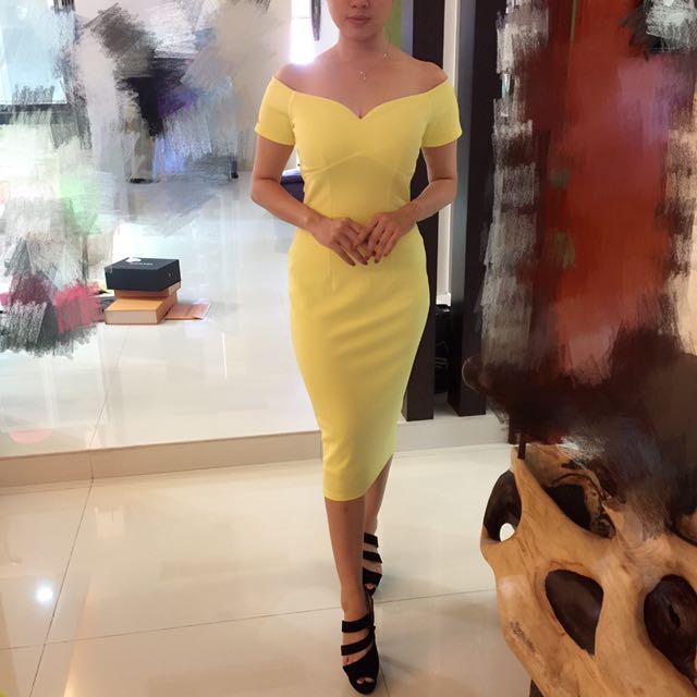 Miss Selfridge Bardot Midi Dress