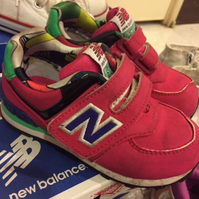 New balance 正版兒童運動鞋