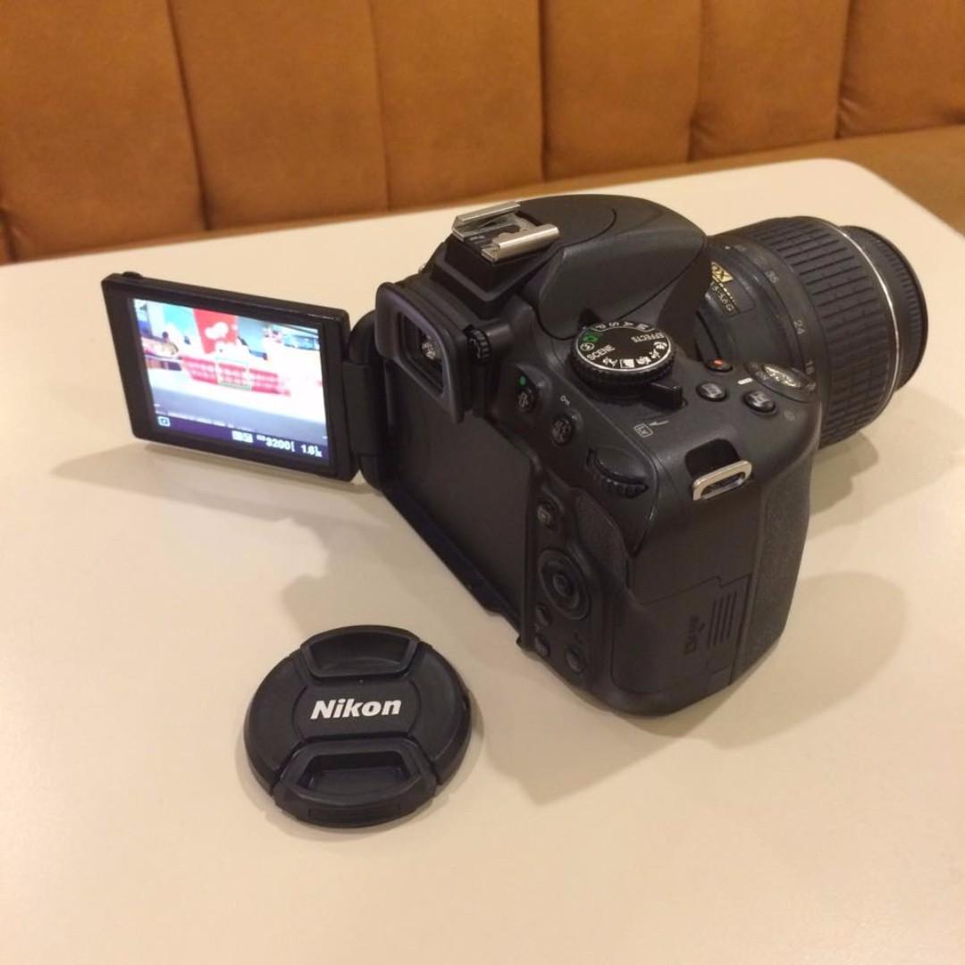 Nikon D5100 lens 18~55mm