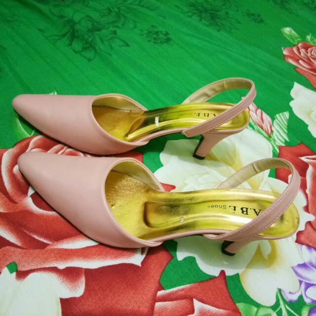 No Brand Heels Pink