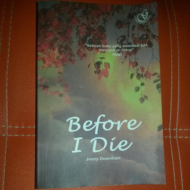 Novel Before I Die