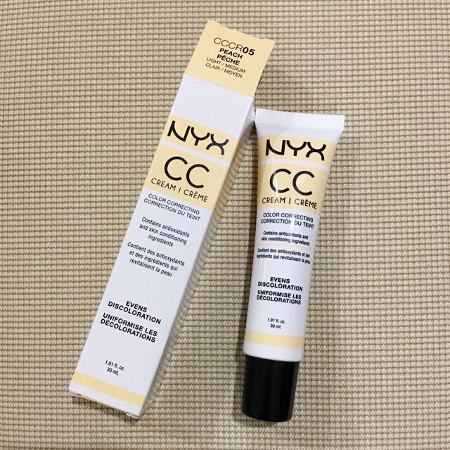 NYX CC creme Color Correcting Tint In Peach