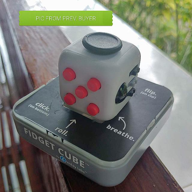 ORIGINAL Fidget Cube Retro Scheme Toys Games On Carousell