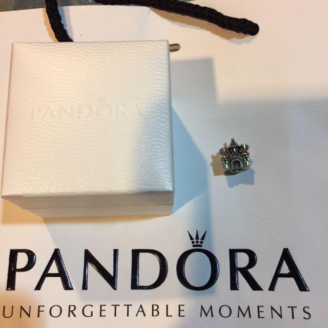 PANDORA純銀城堡串珠一顆