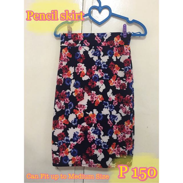 Pencil Skirt (Floral)