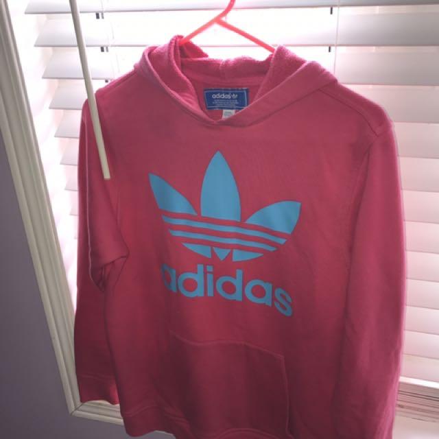 Pink Adidas Sweater
