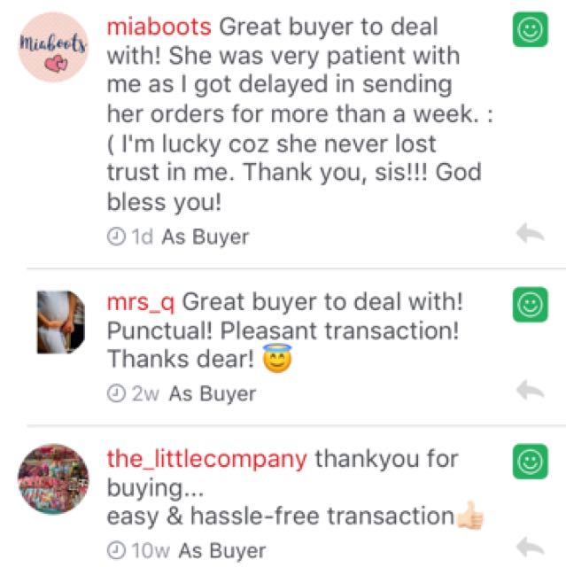 positive feedbacks
