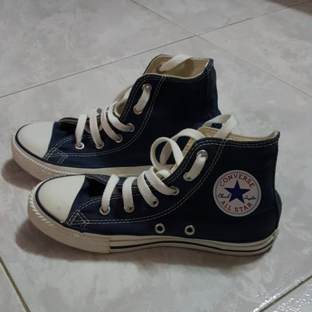 a943b4f2ffc6 Price reduce! Preloved Authentic High Cut Converse Sneakers!! (For ...