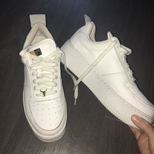 RACERR Windsor Smith White Leather Sneaker