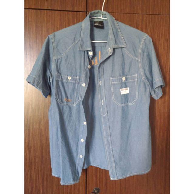 Radionite 牛仔襯衫 短袖襯衫