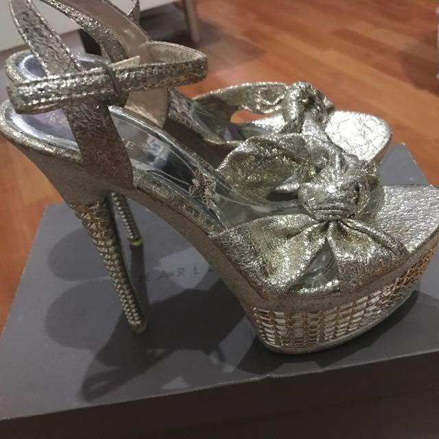 Rose Gold Glamour Heels
