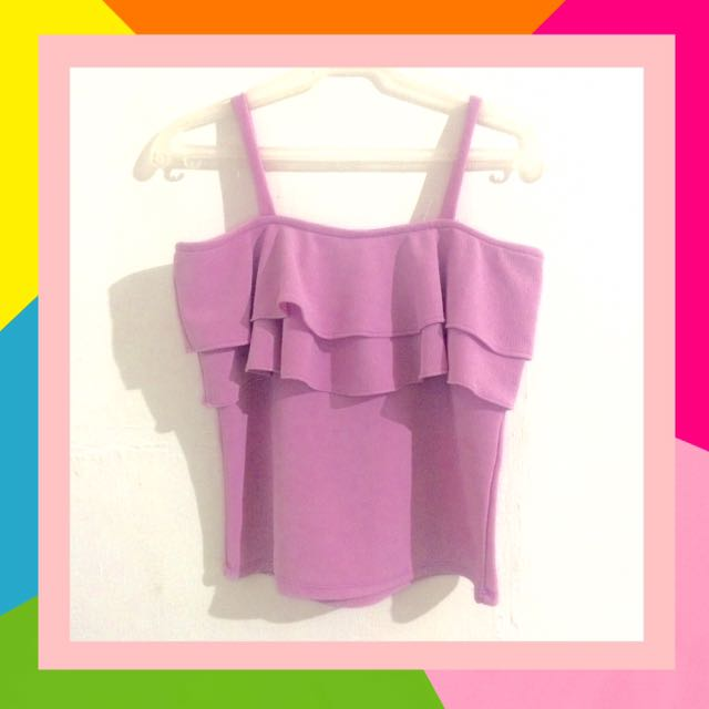 Ruffles Sleeveless