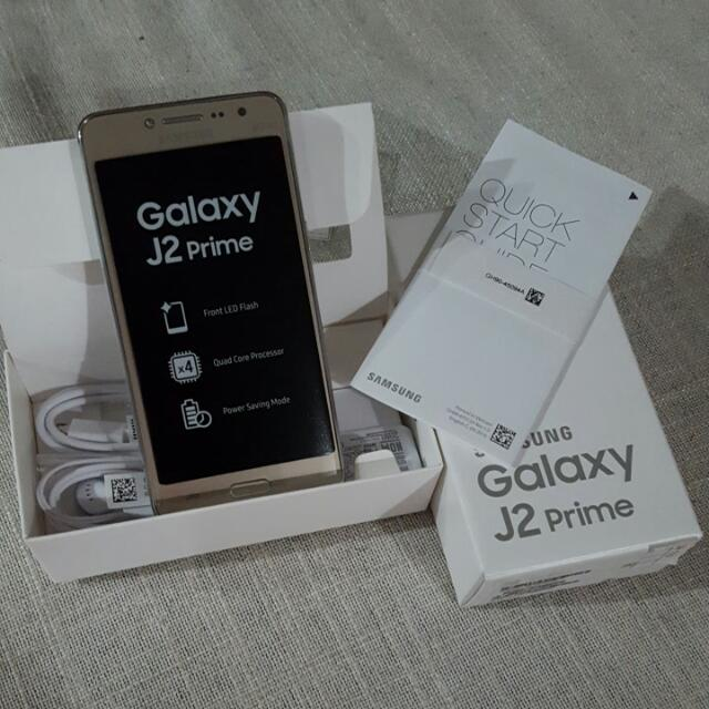 Samsung J2 Prime Gold Brand New Electronics Mobile Phones On Carousell