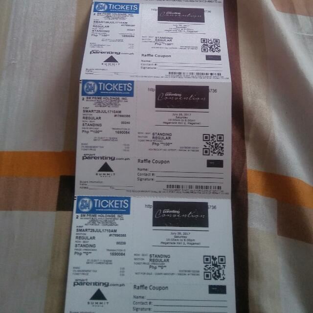Ticket For Smart Parenting Convention 2017
