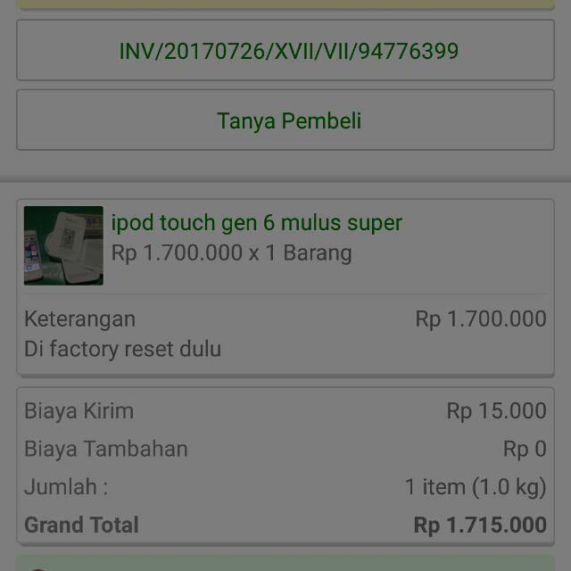 Sold By Tokopedia. Trusted!!!!