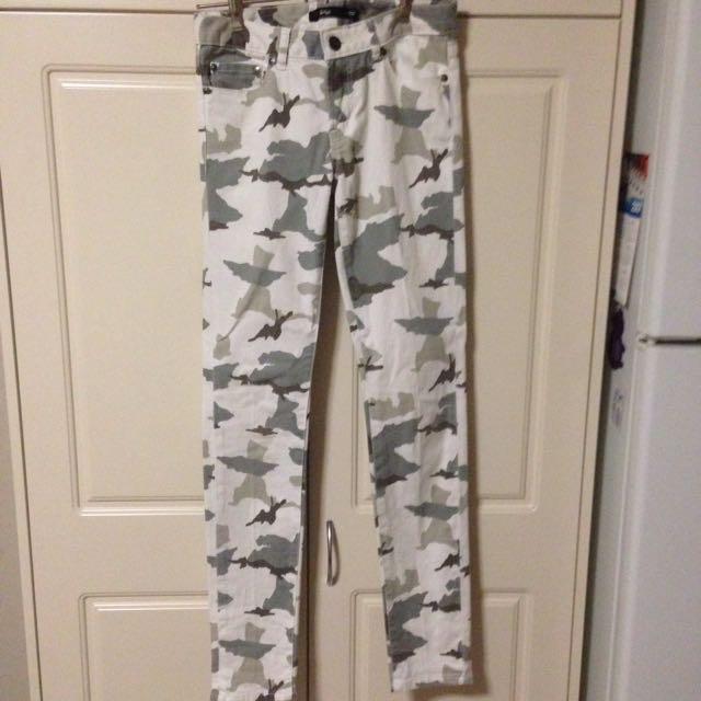 Sportsgirl Army Leggings