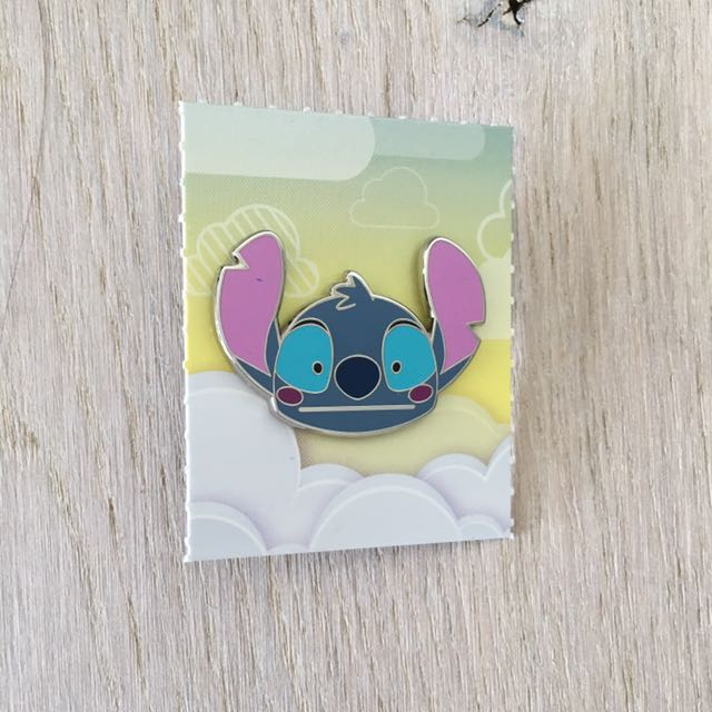 Stitch Disney Emoji Pins