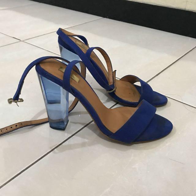 Stradivarius Plexi Sandal