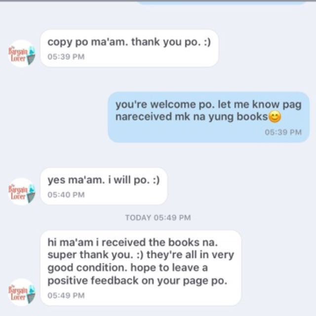 Thank you po for your trust😊