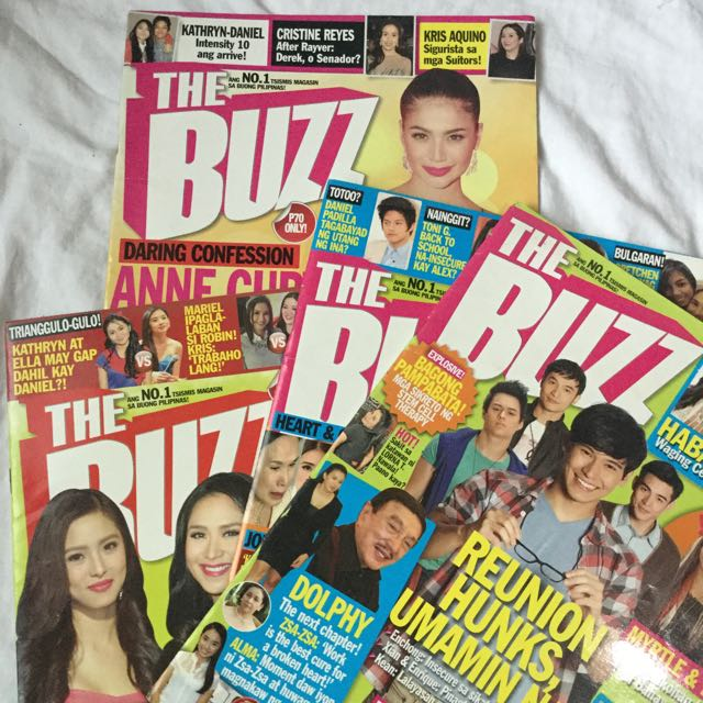 The Buzz Magazines: Kath/DJ/KathNiel featured