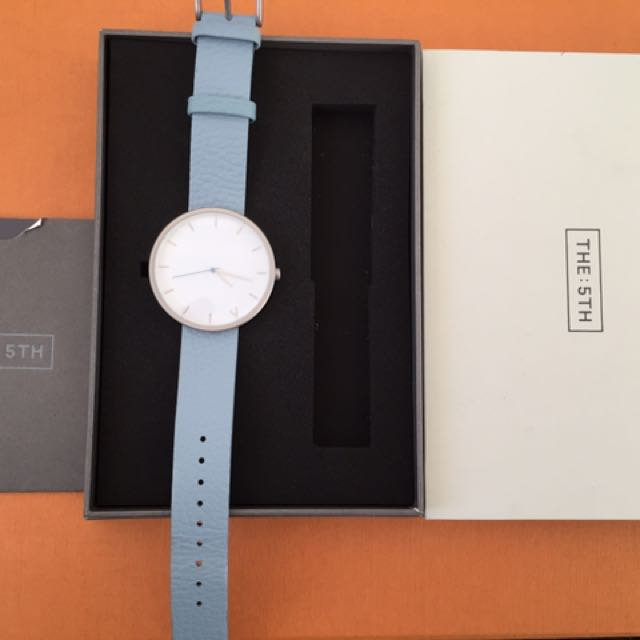 The Fifth (5th) watch Pale Blue Tokyo Range