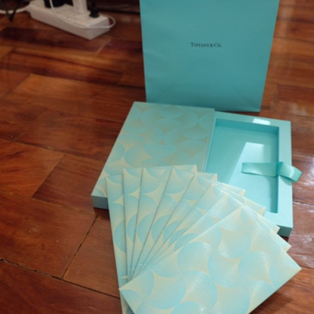 Tiffany And Co Envelope Set