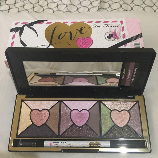 Too Faced LOVE Eye Make-up Kit