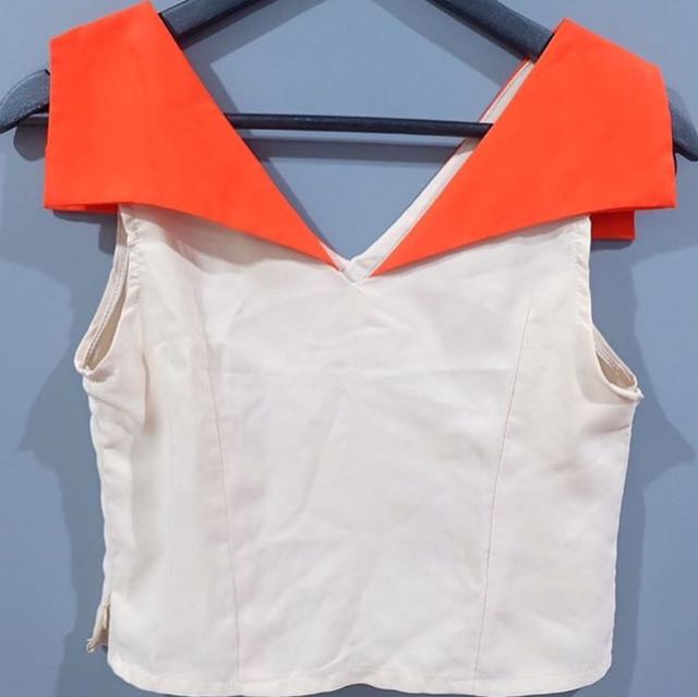 Triangle Crop Top