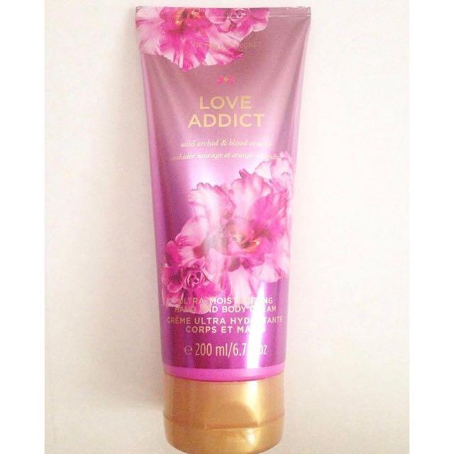1b0bb58132fd9 Victoria's Secret Love Addict Ultra-Moisturizing Hand and Body Cream ...