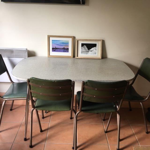Vintage Dinner Table